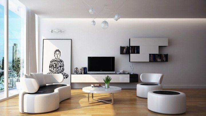Top 15 des meilleures idées de salons contemporains !